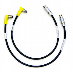 Adapter cable set for M12 components