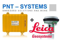 Innovation meets Precision - Combine DataLog Wireless products with Leica GNSS/GPS systems